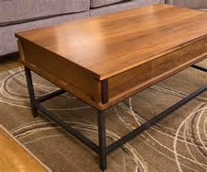 How To Make Coffee Table How To Make A Coffee Table With Lift Top 13