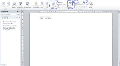 jelaskan cara membuat mail merge blog tugas langkah langkah membuat mail merge