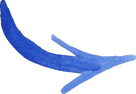 blue png 8 blue watercolor arrow png transparent onlygfx com