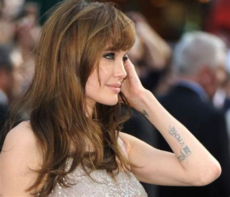 angelina jolie new tattoo tattoos tattoos best tattoos