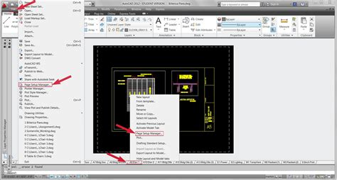 autocad 2012 tutorial how to plot a drawing layout youtube the architectural student autocad setting up paperspace