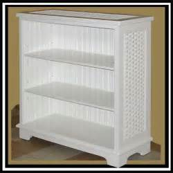 wicker bookshelves cottage wicker bookcase iin white or antique brown