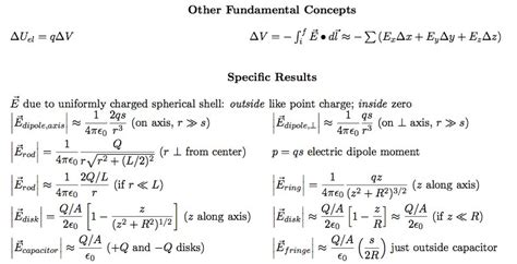 electric field of capacitor formula test 2 equations none phys 222