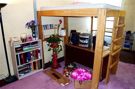 lofted bed dorm pdf diy college dorm loft bed plans download coffee table