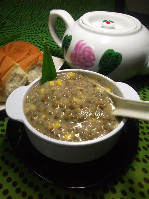 membuat bubur kacang hijau dengan slow cooker bubur kacang hijau berjagung fiza s cooking