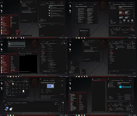 windows themes for windows 8 1 free download windows 8 1 theme alien red by tono3022 on deviantart