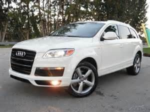 2009 Audi For Sale 2009 Audi Q7 For Sale Ebay Used Cars For Sale