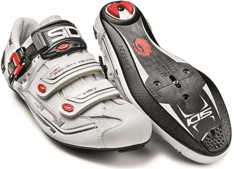 carbon road bike shoes sidi s genius 7 mega carbon road cycling shoes wide