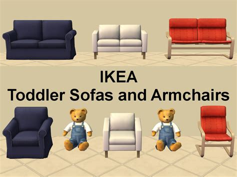 Ikea Armchairs And Sofas by Mod The Sims Ikea Toddler Armchairs And Sofas