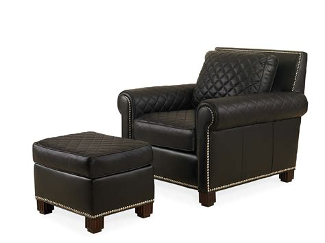 black leather chair with ottoman leather chair with ottoman