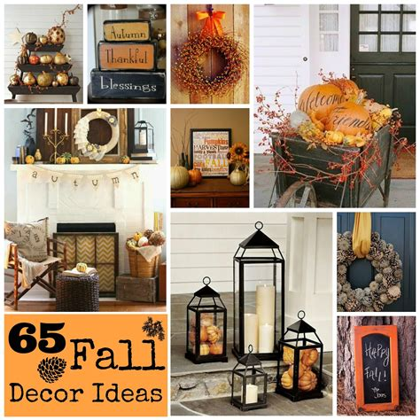 all things fall home decor