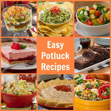 potluck dish ideas easy potluck recipes 58 pleasers mrfood
