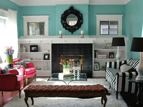 Turquoise And Black Living Room - turquoise living room ideas interior decorating accessories