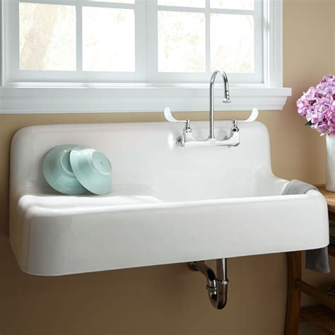Removing A Kitchen Faucet by How To Install An Antique Cast Iron Kitchen Sink With