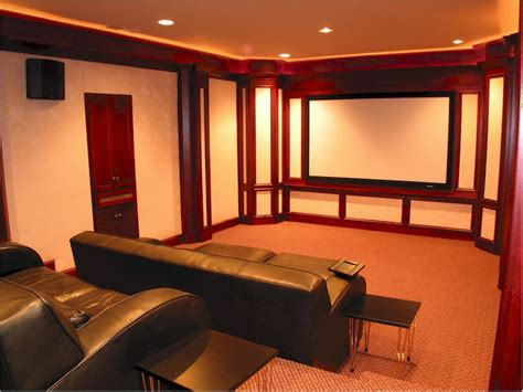 home decor ideas simple family home theater room design ideas