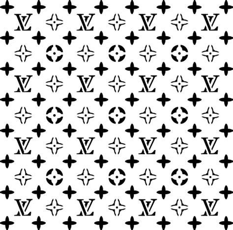 pattern of s lv c louis vuitton stencil