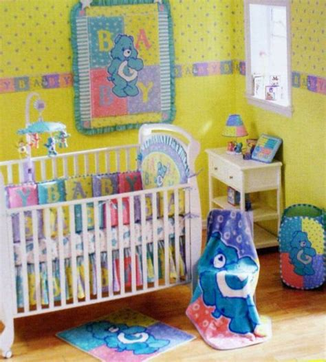 this care bears room would be great for a boy or