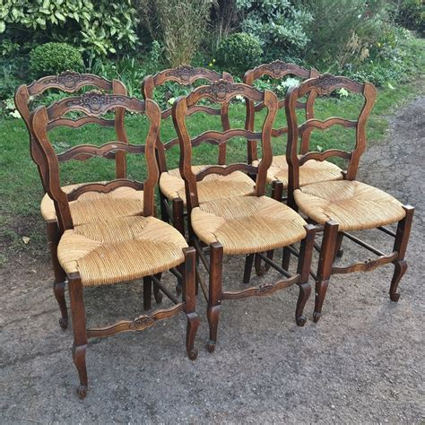 french kitchen furniture set of 6 french kitchen chairs c 1930 antiques atlas