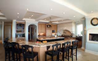 Kitchen Island Designs Ideas Large Kitchen Island With Seating And Storage Home