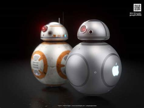 apple designed bb  droid  star wars  force