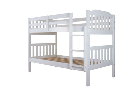 Bunk Beds For Sale Uk Buy Silentnight Pippin White Pine Bunk Bed Frame Big Warehouse Sale