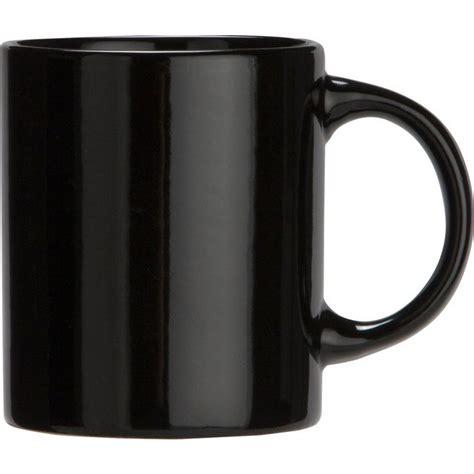 design a mug big w buy simple value set of 6 porcelain mugs black at argos