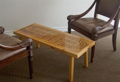 room cribbage table handcrafted cribbage by therightjack