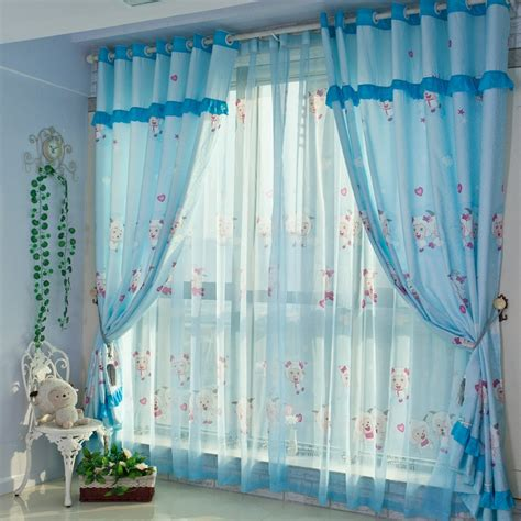 curtains for nursery room 4 types of blue nursery curtains