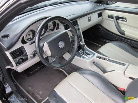 Mercedes Slk 230 Interior by Oyster Charcoal Interior 2000 Mercedes Slk 230