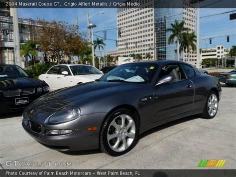 2004 maserati coupe gt grigio alfieri metallic 2004 maserati coupe gt grigio