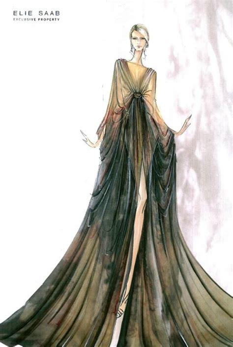 fashion illustration elie saab fashion sketches picmia