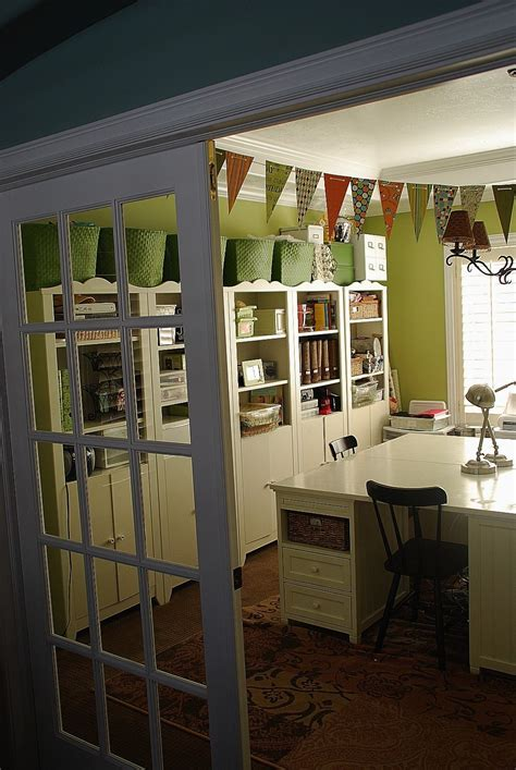 dining room turned craft roomoffice  show