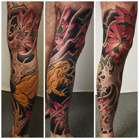 japanese tattoo leg sleeve japanese frog tattoo japanese full body tattoo