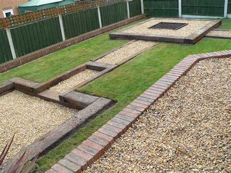 Used British Railway Sleepers Patio Railway Sleeper Garden Ideas