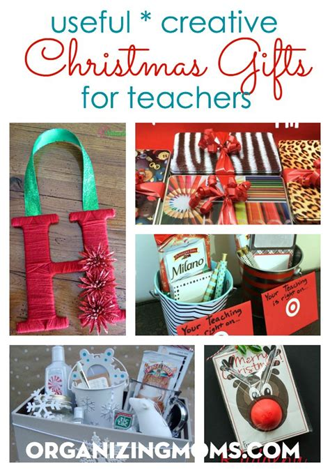 Useful Handmade Gifts - useful creative gifts for teachers organizing