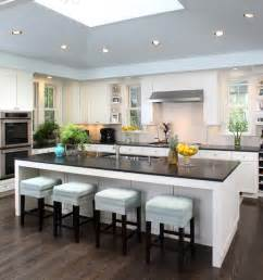 designing a kitchen island with seating contemporary kitchen afreakatheart