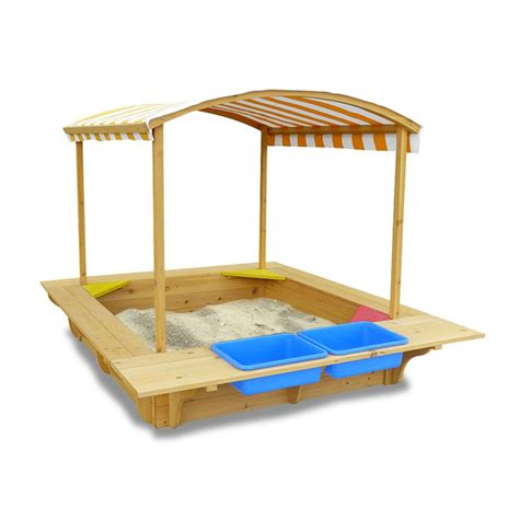 c chair with canopy australia wooden sandbox sandpit with canopy and seats buy