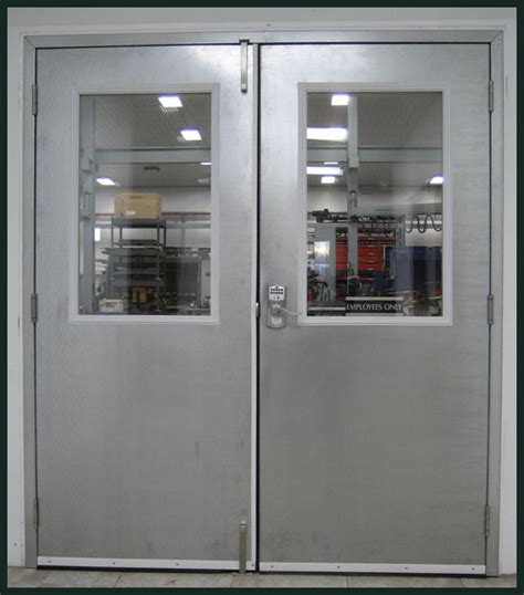 Commercial Exterior Door with Industrial Steel Doors Exterior