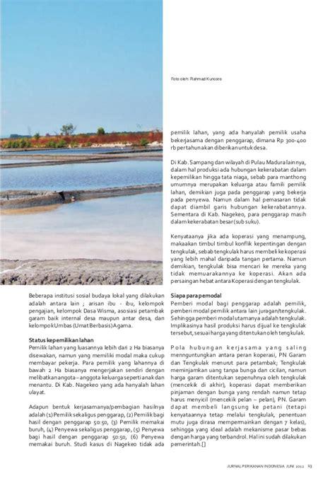 Tata Niaga Hasil Perikanan 1 jurnal perikanan indonesia vol i no i juni 2012
