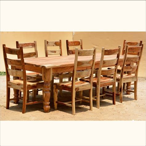 rustic dining room chairs home design 89 astonishing rustic dining table and chairss