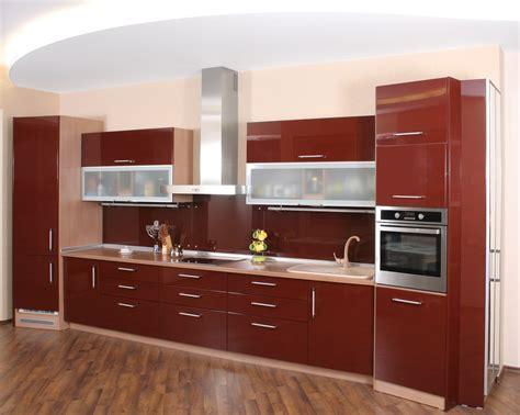 Superbe Lino Mural Pour Cuisine #1: Dalles-lino-meuble-rouge