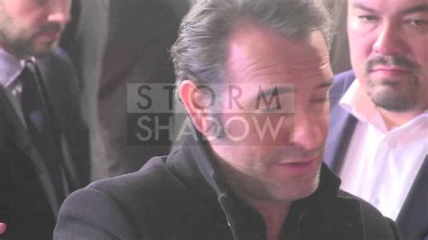 jean dujardin wolf jean dujardin at the premiere of quot the wolf of wall street