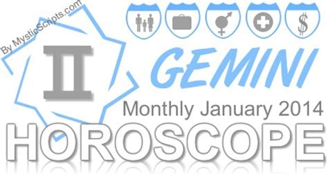 gemini monthly horoscope predictions 2014 archives