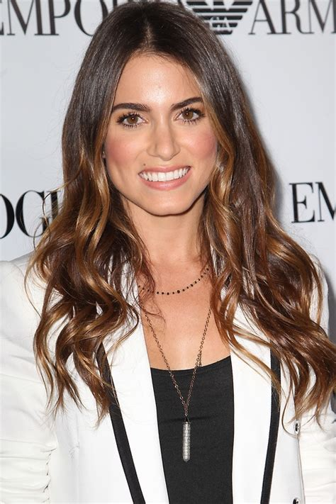 nikki reed with dyed hair nikki reed i ombre hair love hair pinterest colors