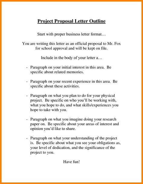 Letter Format For Project 9 Sle Project Letter Packaging Clerks