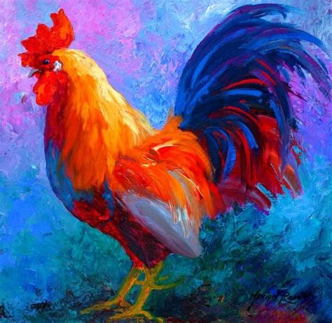 bob ross paintings how many best 25 rooster ideas on roosters