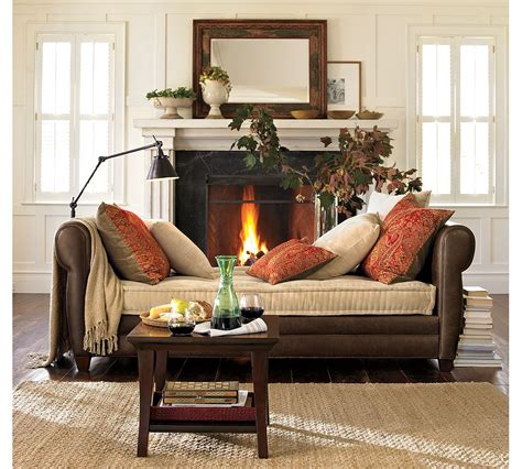 pottery barn interior design tips for adding warmth to your fall decor as it gets