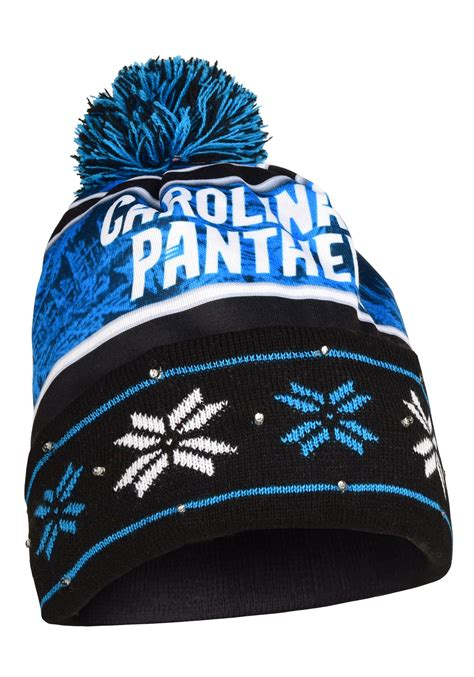 beanie cap with light nfl cap winter stocking hat discount