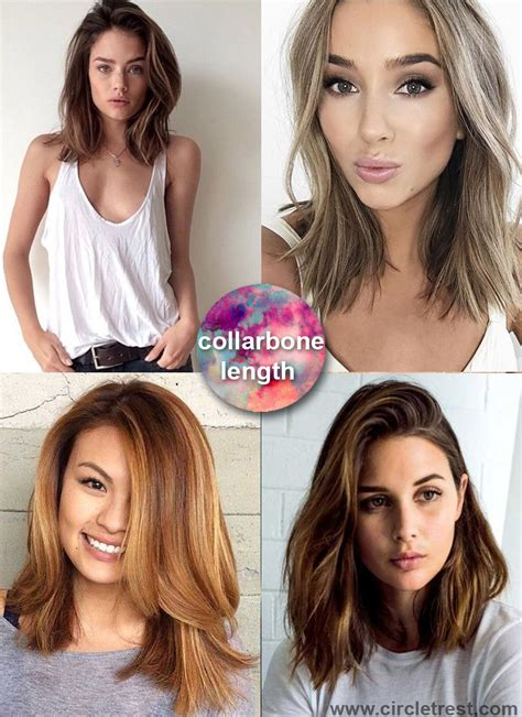 collar bone length hairstyles 15 ways collarbone length hairstyles can improve your