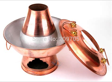 steamboat noise 32cm the handmade thickened copper mongolian hot pot